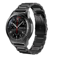 FOHUAS Stainless Steeel Watchband For Sumsung Gear S3 Wrist Smart Watch Band Link Strap Bracelet Links
