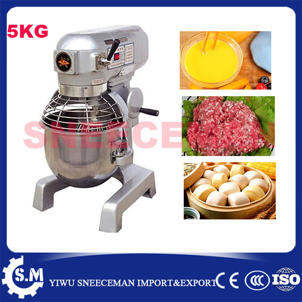 5kg electric dough mixer with bowl 15L pizza dough mixer machine