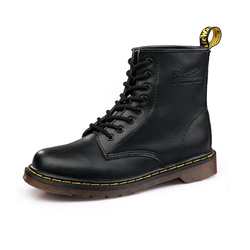 Martens Women Boots Dr Main boots High quality split Leather shoes Motorcycle Autumn Winter Martens Women Boots size 36-46