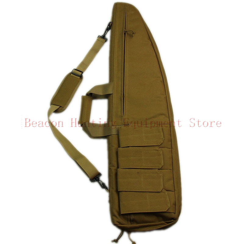 Sable du désert 90 cm Militaire Armée 35.5 ''Tactique Gun Bag Cas Gun Airsoft Chasse Extérieure Pistolet Sac Cas Carabine Étui à fusil