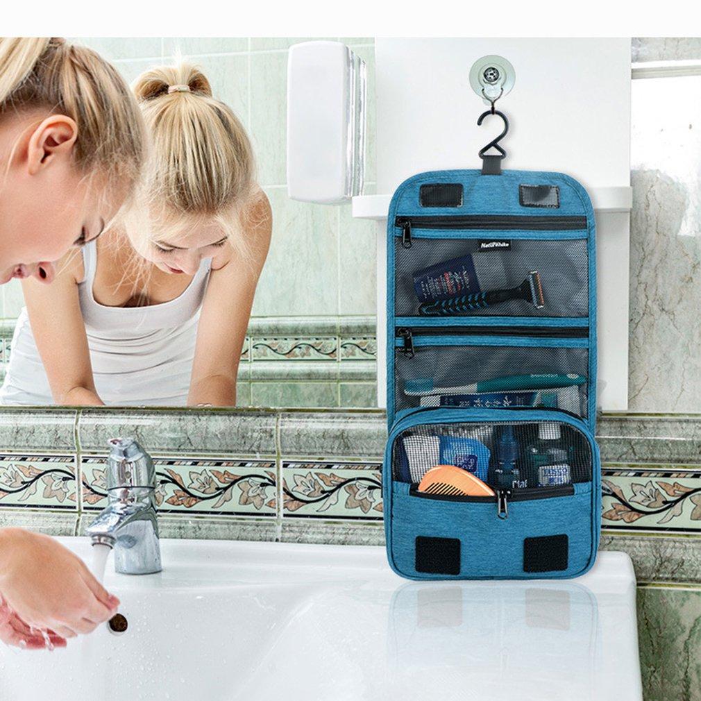 Naturehike Travel Portable Organizer Bathroom Storage Cosmetic Bag Hanging Toiletry wash bag