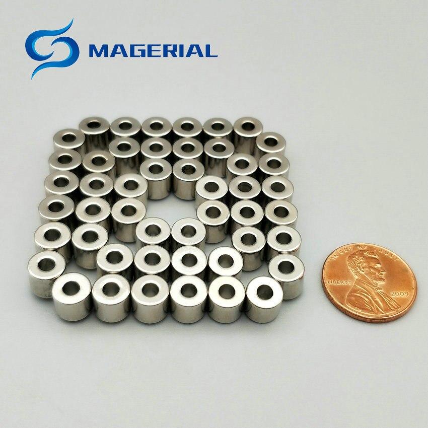 1 Pack Magnete di NdFeB Anello OD 7.2x3x6.3mm di Diametro 0.28 Round Forti Magneti Diametrically Magnetizzato magneti in Terre Rare1 Pack Magnete di NdFeB Anello OD 7.2x3x6.3mm di Diametro 0.28 Round Forti Magneti Diametrically Magnetizzato magneti in Terre Rare