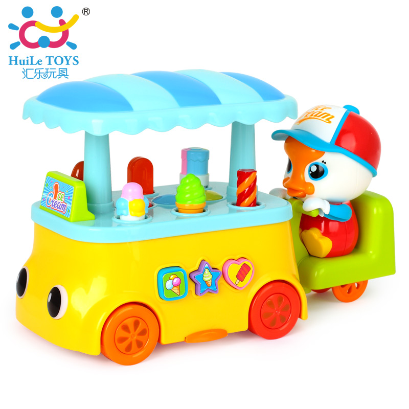 ФОТО Electric Universal Baby Toy Ice Cream & Sweets Cart Children's Kid's Pretend Play Toy Food Play Set w/ Lights, Sounds Kids Toys
