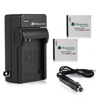 2pcs 1200mAh NB 4L Replacement Digital Battery Charger For Canon Camera For PowerShot SD200 SD300 SD400