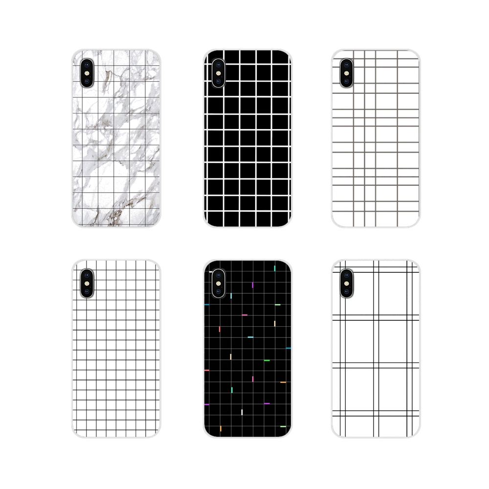 the latest retro style black and white grid for xiaomi