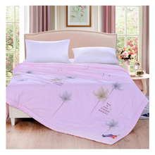 Cotton 2018 new air conditioner duvert machine washable fashion skin-friendly quilt summer cool Soft and comfortable bed quilt