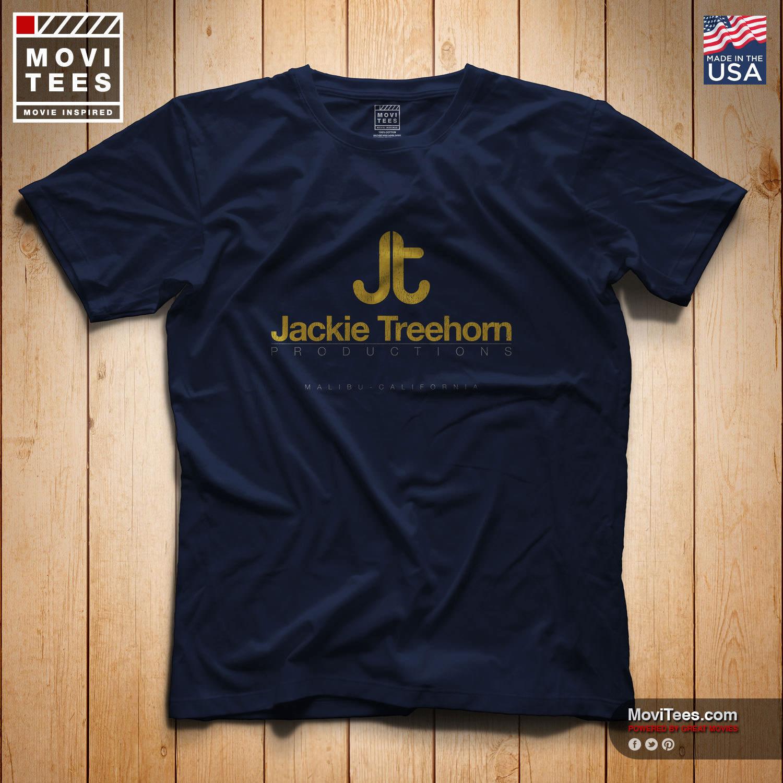 Мужская футболка с надписью Jackie Treehorn Productions, Повседневная футболка с надписью «movie the Big Lebowski», унисекс