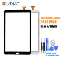 Black/White Replacement Touch Screen Digitizer Sensor Glass Panel For Samsung Galaxy Tab A 10.1 P585 P580 SM P585 SM P585