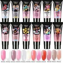hot deal buy 15ml extend uv nail gel extension builder led gel nail art gel lacquer jelly acrylic builder uv nail poly gel 12color