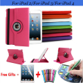 360 Degree Rotating Cover for iPad 2 Cases with Stand Function for iPad 3 Case Multifunctional Smart Cover for iPad 4 Case 9.7