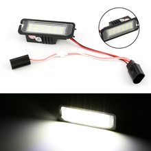 2Pcs Canbus auto luce targa a led luce della coda della luce car styling fit per VW Golf 5 6 7 passat Beetle Polo 9N UP Scirocco
