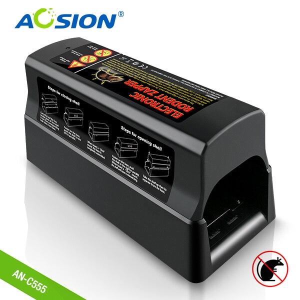 Mise à niveau des Batteries d'aosion à domicile et de la souris électrique de lutte antiparasitaire actionnée par adaptateur
