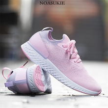 Summer Socks Shoes Women Sneakers Mesh Breathable Casual Shoes Lightweight  Jogging Platform Sneakers Basket Tenis Feminino haraval personality ladies white sneakers platform shoes fashion velcro casual shoes lightweight mesh breathable women shoes n96