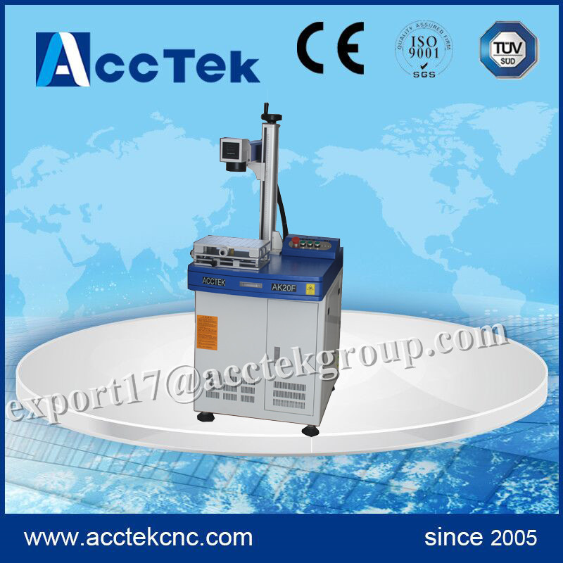 High precision AccTek laser engraver and marker laser printing machine for fabric