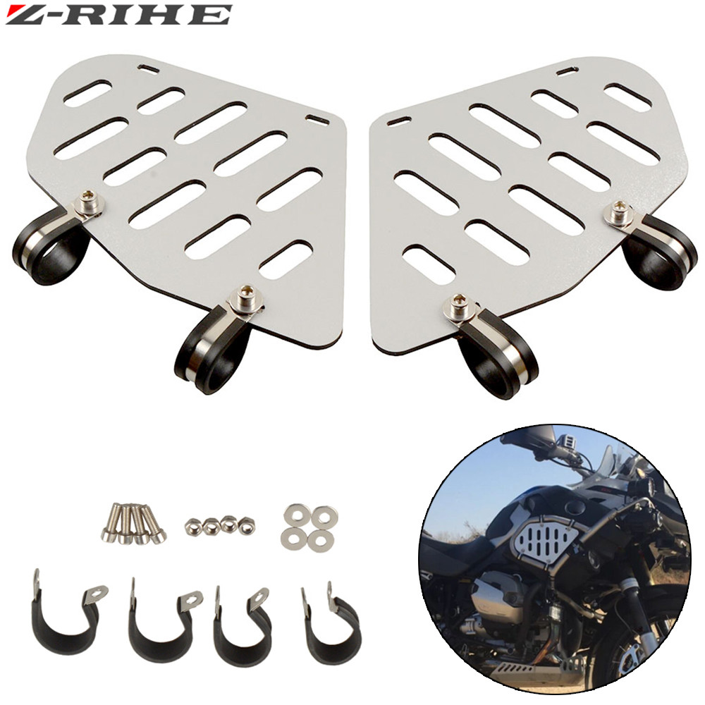 Motorcycle fuel tank R1200GS Tank side plate Side cover Side cover Tank guard protection FOR BMW R1200GS Adventure ABS 2006-2013 areyourshop motorcycle cylinder guards upper crash bar trim plate for bmw r1200gs adventure lc 2013 2017 aluminum motor cover
