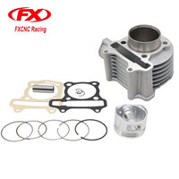 FX 52MM Cylinder Rebult Kit For GY6 125cc Moped Scooters TAOTAO ATV Motorcycle Cylinder