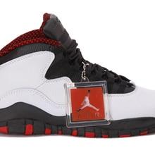 0166c8751870e4 2018 Jordan Air Retro 10 X Man Basketball Shoes White black red venom  stealth steel
