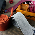 Designer Brands Wool Ties for Men 6CM Slim Necktie Wedding Corbatas Wool Gravata Masculina Solid Orange Grey Maroon Red SALE