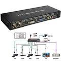 SDI a TODOS Escalador Convertidor SD de alta Calidad, hd y señales 3g-sdi a hdmi/dvi/vga splitter switcher salida compuesta