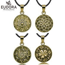 Eudora 21mm Vintage Bronze Mixed Ball Pendant Necklace Mexican Bola Sound Harmony Chime Ball Pregnancy Bola Necklace for Women mcnair pes s6 s6j multifunction screwdriver 6 digital service package of precision small batch combination of equipment