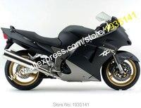 Hot Sales,For Honda CBR 1100XX 96 07 Fairings CBR1100XX 1996 2007 Matte Black Blackbird Motorcycle Fairing (Injection molding)