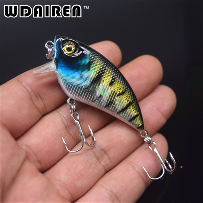 New 1pcs 5.5cm 6.6g Fishing Lure Crankbait Trolling Lure Fishing Tackle Wobbler Swimbait Fishing Artificial Hard Bait FA-277 wldslure 1pc 54g minnow sea fishing crankbait bass hard bait tuna lures wobbler trolling lure treble hook