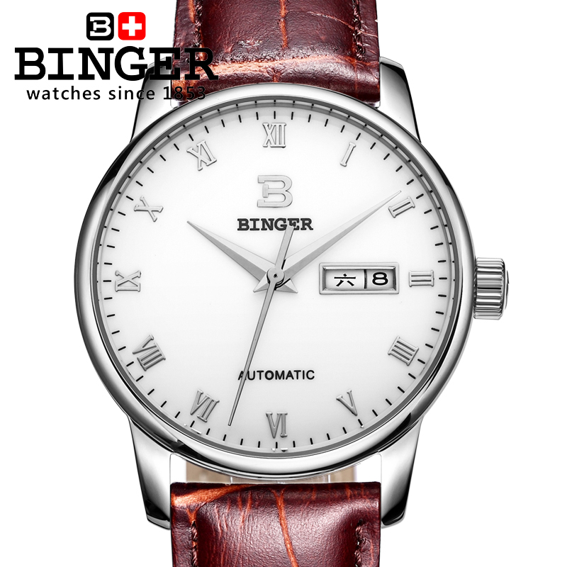 Stainless Steel Sapphire Relogio Mens Watches Top Brand Luxury Waterproof 2017 Switzerland Automatic Mechanical Men Watch B5005 2018 ailang sapphire automatic mechanical watch mens top brand luxury waterproof brown genuine leather watch relogio masculine