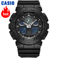 Casio watch G SHOCK Men's Quartz Sports Watch Trend Camouflage Multifunction g shock Watch GA 100MB