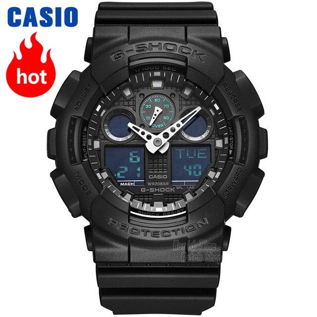 Casio homens relógio G SHOCK top luxo conjunto LED militar cronógrafo relogio digital relógio de pulso Homens relógio de quartzo impermeável mergulho esporte choque Resistente relógios g choque 3D dial homens relógio
