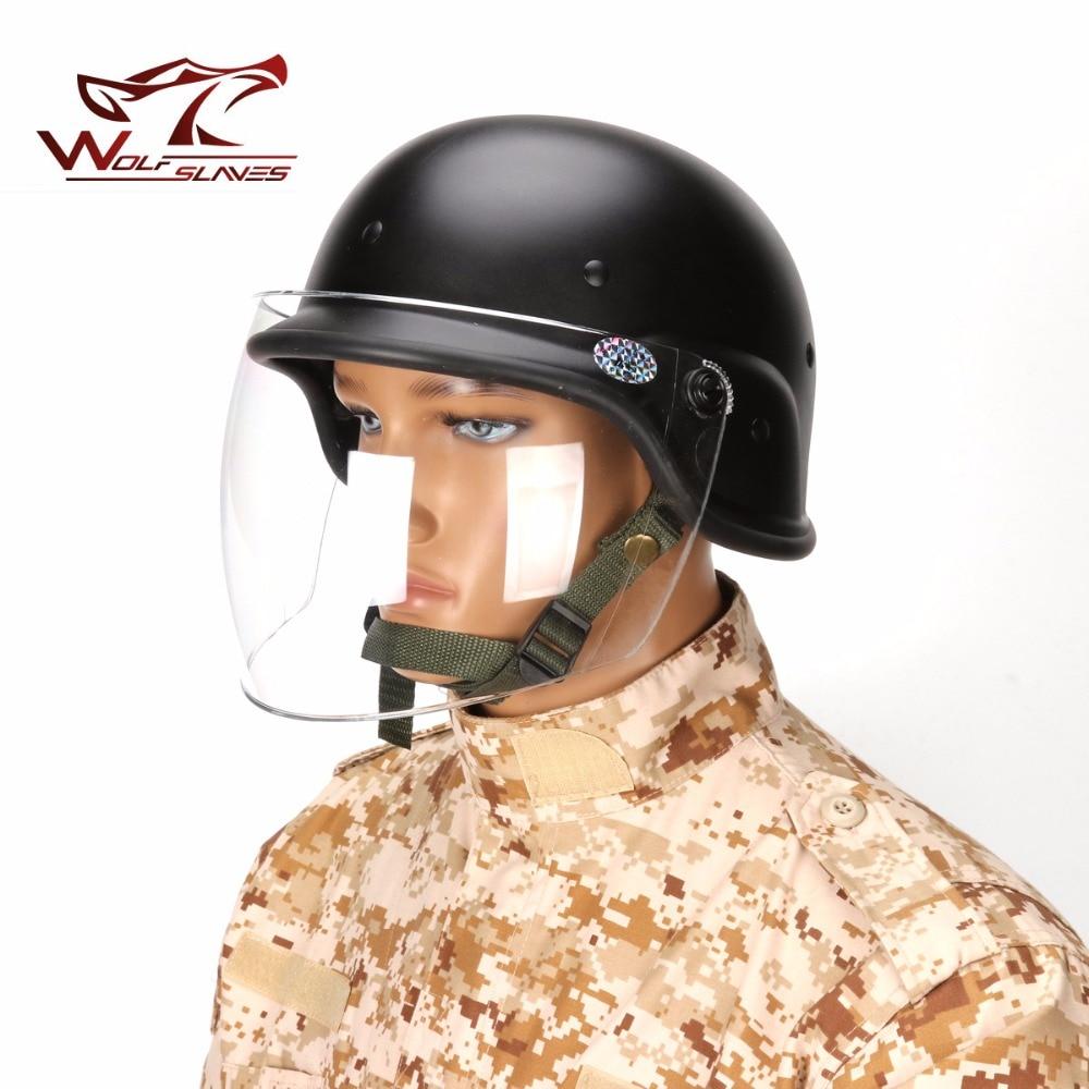 Huenco Classic Schutzhelm Airsoft Tactical Army SWAT M88 USMC Schie/ßhelm Schutzbrille