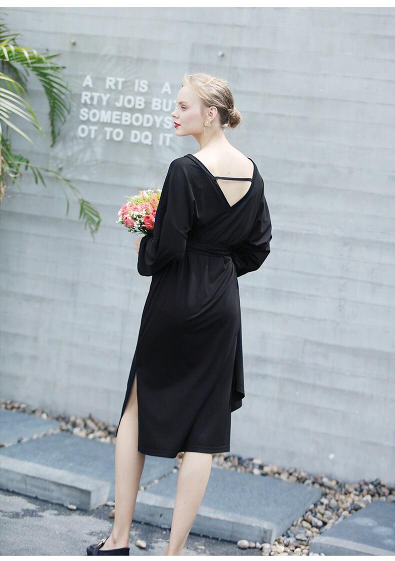 umstandsmode kleid frühling v-ausschnitt kleider für schwangere elegante  umstandsmode schwangerschaft kleidung schwangerschaftskleid