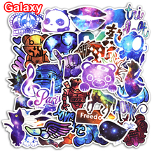 100 Pcs Galaxy Stickers JDM Stciker for Laptop Luggage Skateboard Fridge Car Styling Bike Accessories DIY Stickers