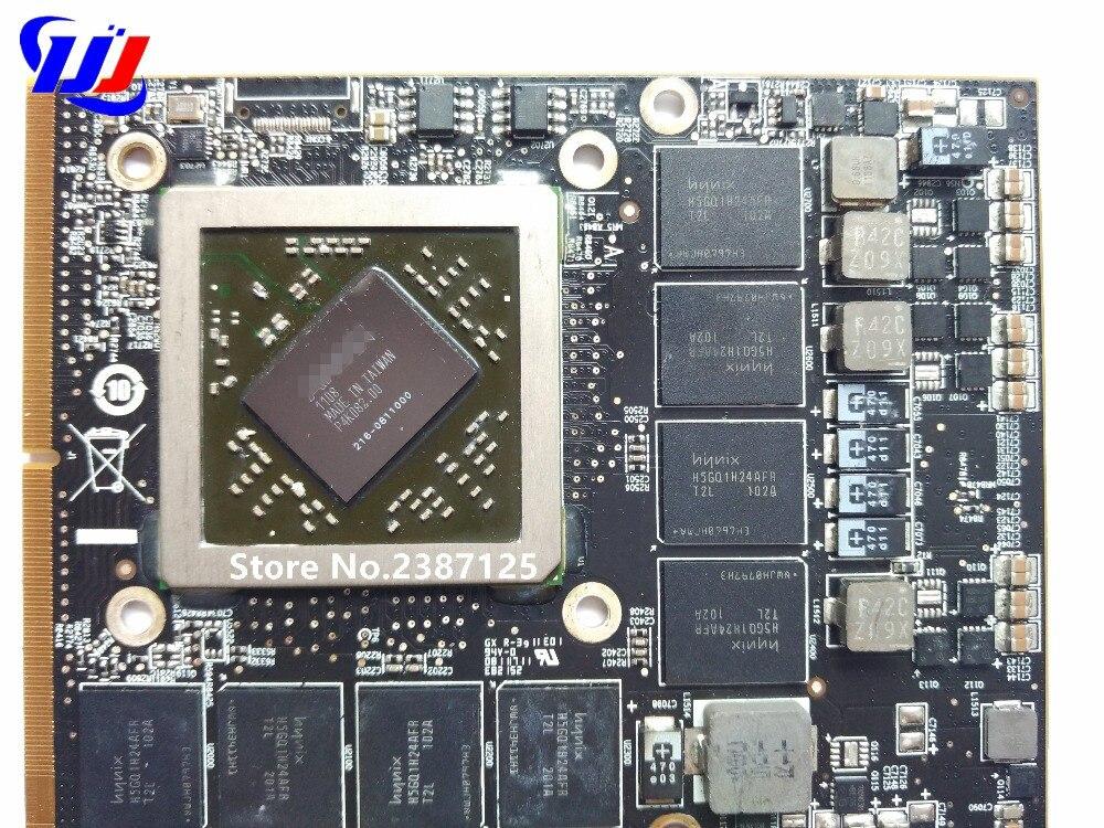 D'origine HD6970M HD 6970 M 1 GB Carte Vidéo Pour je M un c 27 A1312 HD6970 Carte Graphique VGA GPU GDDR5 216-0811000 109-C29657-10