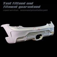 DAG Style Ver 2.1 FRP Fiber Glass Rear Bumper Fiberglass Car Splitter Cover Tuning Trim Drift Body Kit Fit For F56 Mini Cooper S