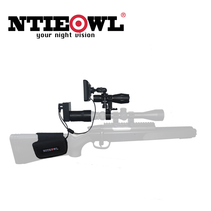 NITEOWL NV-G1 Digital Night Vision Scope for Rifle Hunting with Camera and Portable Display Screen Night Vision 200 MetersNITEOWL NV-G1 Digital Night Vision Scope for Rifle Hunting with Camera and Portable Display Screen Night Vision 200 Meters