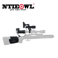 NITEOWL NV G1 Digital Night Vision Scope for Rifle Hunting with Camera and Portable Display Screen Night Vision 200 Meters