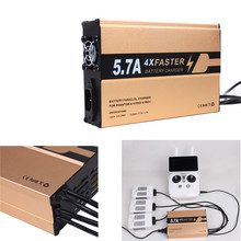 4 in 1 Remote Controller Battery Charger Fast Charging For DJI Phantom 4 4PRO/4PRO+ drop shipping
