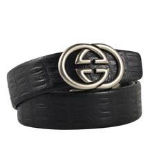 2019 Designer Belts Men Women High Quality Luxury Brand Smooth Buckle Genuine Le