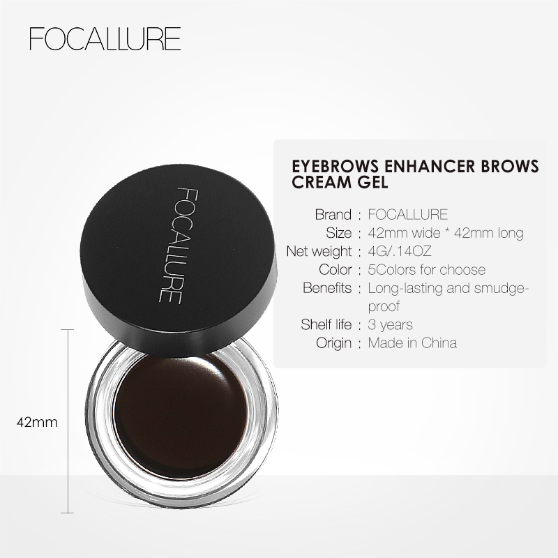 Focallure Hot sale Waterproof Liquid Eyeliner Long lasting Eyebrow Beauty Cosmetics Make UP Set in Eyebrow Enhancers from Beauty Health