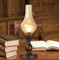 Modern LED Desk Lamp Like Kerosene Table Lamps For Study Room Bedroom Bar Lamparas De Mesa