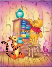 Diy diamond painting Winnie the Pooh cross stitch crystal square set unfinished full embroidery