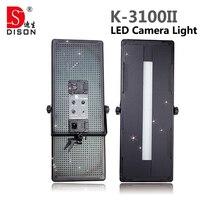 2 шт. Dison СВЕТОДИОДНАЯ фотовспышка K-3100II двухцветный 3200 К-5500 К Цветовая Температура Регулируемая CRI95 Камеры фото Светодиодный Свет