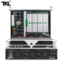 TKL PS4 professional power amplifier 1300Wx4 dj Audio Power HiFi Amplifier Speaker with Remote Control for stage