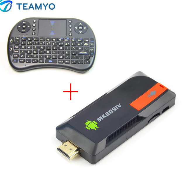 TV Stick MK809IV RK3229 Quad Core Mini PC Android TV Box WiFi 2GB 8GB Built-in Bluetooth + Keyboard Air Mouse Touchpad