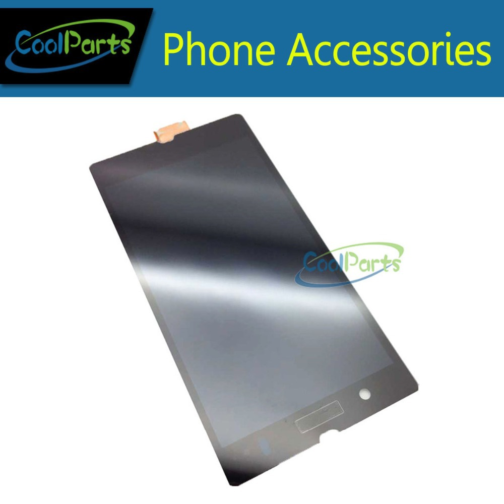 OEM Quality Black color For Sony Ericsson Xperia Z L36h L36i LCD Display Panel and Touch Screen Digitize 1PC/Lot