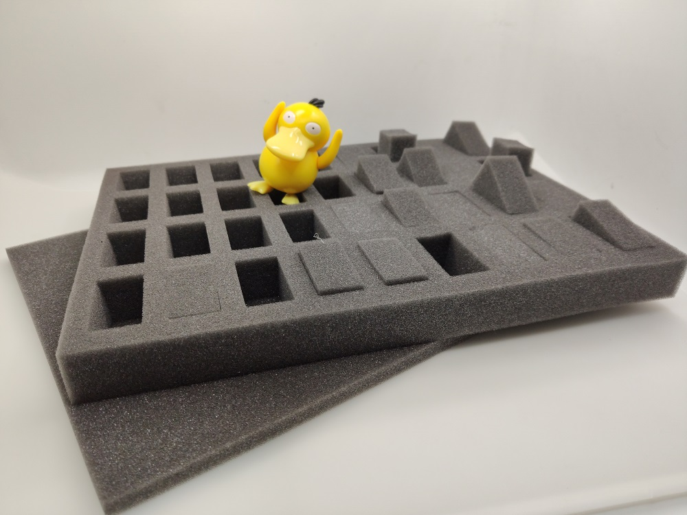 DIY Storage Protection Anti Collision Sponge For Tabletop TRPG War Chess Game 20K 40K Hammer Model Portable Grid Wave