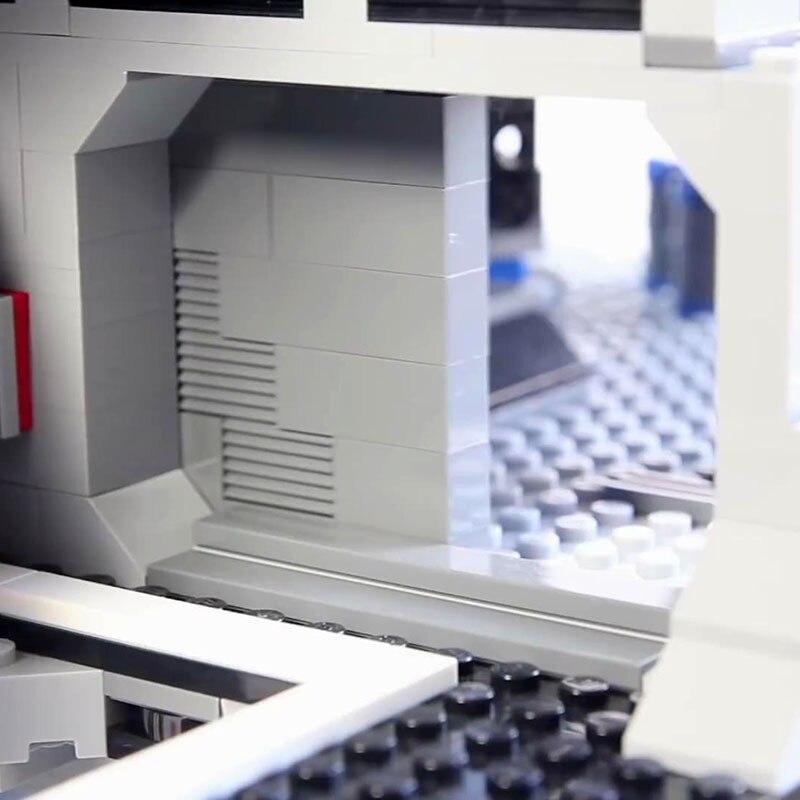 Лепин 05035 3803 шт. Star Wars Death Модель Star строительные цифры Конструкторы Совместимость 10188 доставку службой DHL