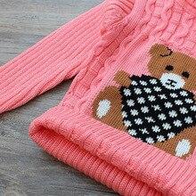 LCJMMO Boys Girls Sweaters Autumn Winter 2017 Cartoon Turtleneck Baby Kids Sweaters Soft Warm Girl Knitted Sweater Size 70-105cm