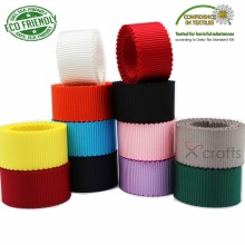 Solid Colors Petersham Double Faced Ribbon 3/8 9mm 5/816mm 7/822MM 1 25mm 1-1/2 38mm White Black Red