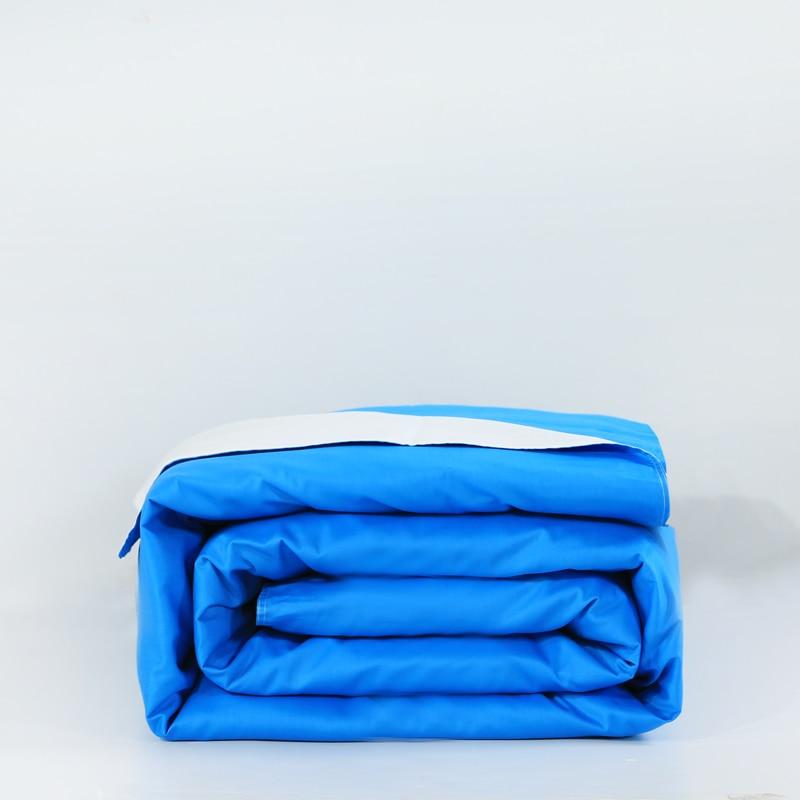 ≧2016 New Fashion 【】 Comforter Comforter Set White Blue